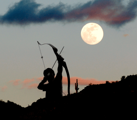 Shooting Arrows at the Moon
